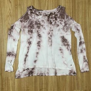 AEO NWOT Soft & Sexy Cold Shoulder Tee